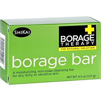 2 Packs of Shikai Products Cleansing Bar - Non Soap - Borage - 4.5 Oz