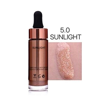 DZT1968 6 universal shades Colors 15ml Highlighter Make Up Concealer Shimmer Face Glow Liquid Highlighter