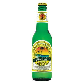 Reed's Original Ginger Brew 12 oz Glass Bottles - Pack of 12