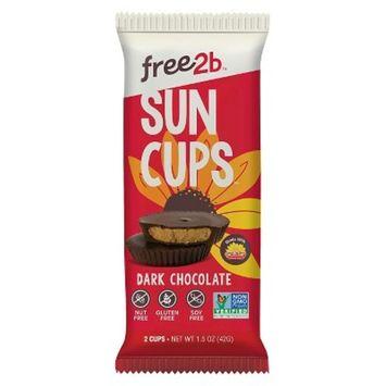 Free 2B Foods Sun Cups Dark Chocolate 1.5oz