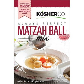 Kosherco All Natural Matzo Ball soup Mix 4.4 oz-Pack of 3