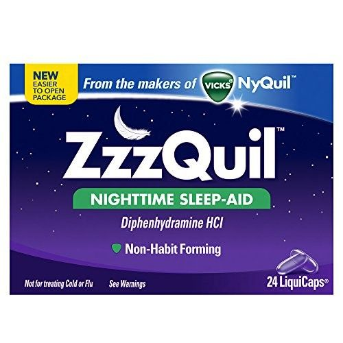 Zzzquil Nighttime Sleep-aid Liquicaps 24 Count Each
