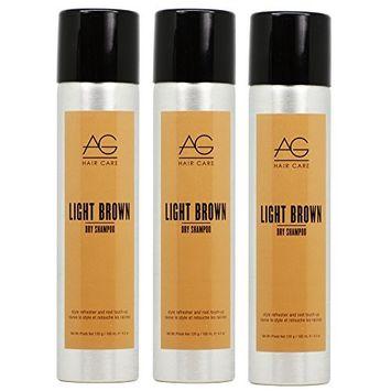 AG Hair Simple Dry Dry Shampoo -Light Brown 4.2oz