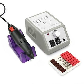 Electric Nail Machine Drill Manicure Pedicure Acrylic 20000 RPM Grooming Kit Nail File Polish Professional Salon NailArt File Low Noise CoastaCloud