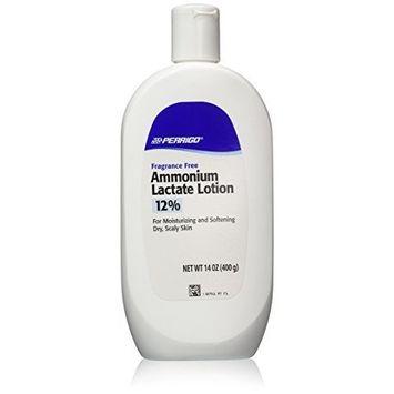 Ammonium Lactate Lotion 12%C-P , Fliptop - (400grams/14oz) - Pack of 2 by Ammonium