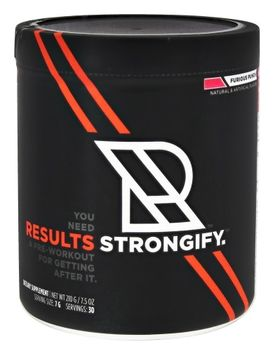 STRONGIFY - Furious Punch Results Nutrition 30 Servings