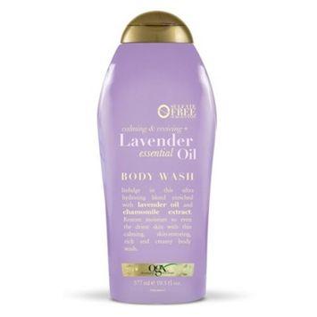 OGX Lavender Essential Oil Body Wash - 19.5oz