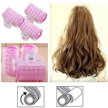 Hair Curler, Hometom 3 Pcs Hairdress Magic Hair Styling Roller Curler Spiral Curls DIY Tools