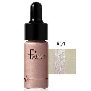 DZT1968 12 Colors 12g Waterproof Highlighter Luminous Make Up Concealer Shimmer Face Glow Liquid Highlighter