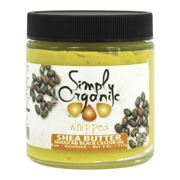 Whipped Shea Butter with Jamaican Black Castor Oil - 4 oz.