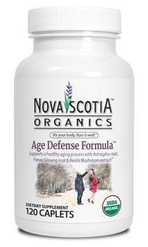 Nova Scotia Organics Age Defense Formula Caplet, 120 Ct