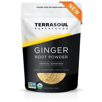 Terrasoul Superfoods Organic Ginger Powder, 1 Pound