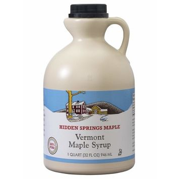 Hidden Springs Maple Natural Syrup [Amber Rich]