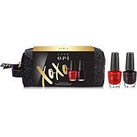 Love OPI XOXO Nail Lacquer Duo w/ Cosmetic Bag