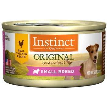 Natures Variety Nature's Variety Instinct Small Breed Grain-Free Chicken Formula Canned Dog Food