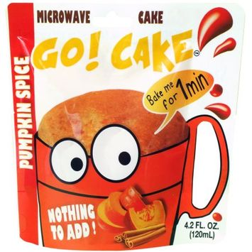 Easy Gourmand Llc Go! Cake Pumpkin spice - Case of 12 pouches