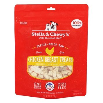 Stella & Chewy's  Freeze-Dried Raw Dog Treats Chicken Breast