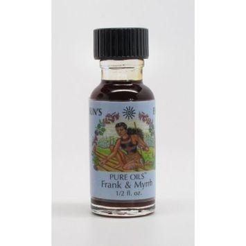 Frankincense and Myrrh - Sun's Eye 'Pure' Oils - 1/2 Ounce Bottle