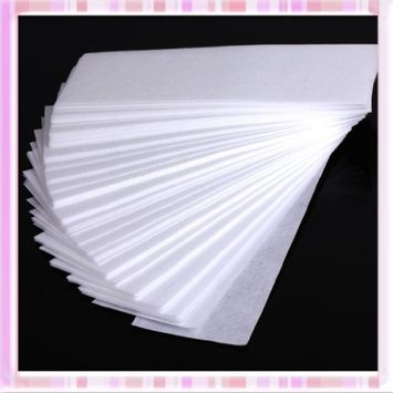 ReNext 100 Pcs Professional Facial & Body Hair Removal Wax Strips Paper Depilatory Nonwoven Epilator