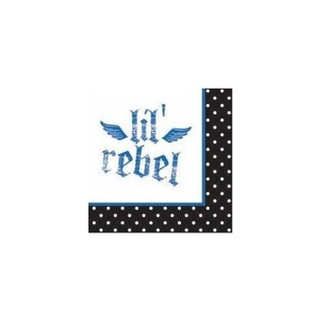 16-Count Paper Beverage Napkins, Rebel Birthday