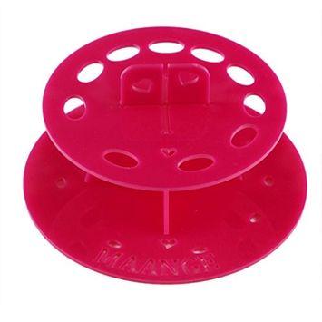 Start 10 Hole Oval Makeup Brush Holder Drying Brush Cosmetic Shelf