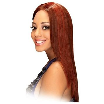 Lace Wig NEW LONG - Zury Synthetic Hair Lace Wig #1B