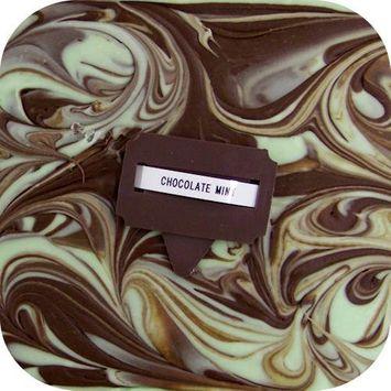 Home Made Creamy Fudge Chocolate Mint - 1 Lb Box [Chocolate Mint]