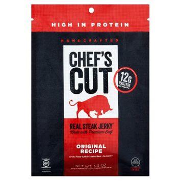 Rsj Ventures Llc Chef's Cut Original Recipe Real Steak Jerky, 5.5 oz