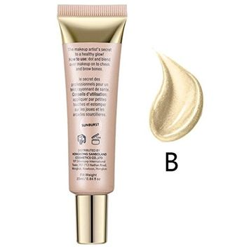 Alonea 3 Colors Avaliable Highlighter Beauty Concealer Shimmer Face Glow Liquid Highlighter
