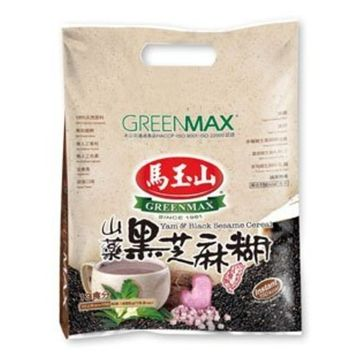 Greenmax Yam and Black Sesame Cereal, 15.9 Ounce