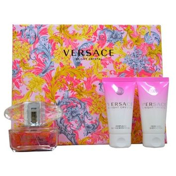 Versace Bright Crystal for Women, Gift Set