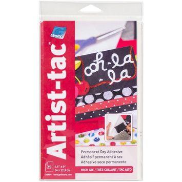 Grafix Artist-Tac 5.5X9 25/Pkg