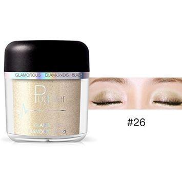 Creazy Cosmetic Powder Smoky Eyeshadow Palette Makeup Set Matt 28 Colors Available