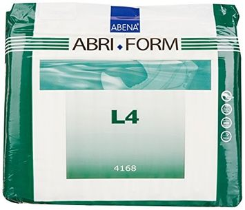Abena Abri-Form Comfort Brief Diapers L4, Large, 12 Count