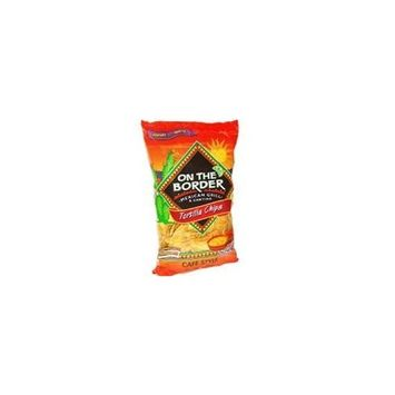 On The Border Cafe Style Tortilla Chips - 24 Oz (Pack Of 2)