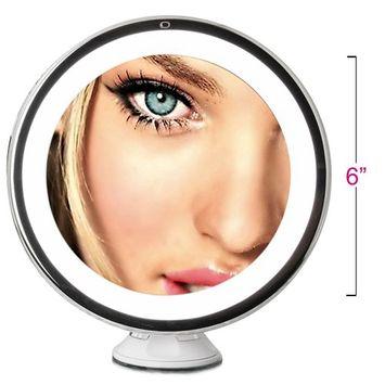 Fancii Daylight LED 10X Magnifying Makeup Mirror - 8.0