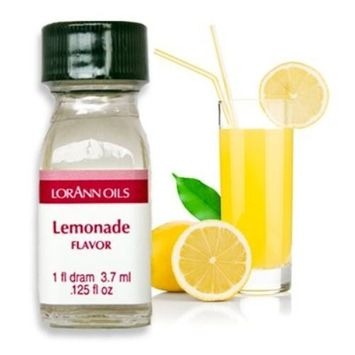 National Cake Supply Lemonade Flavor - 2 Dram Pack - LorAnn Oils - Includes a Recipe Card