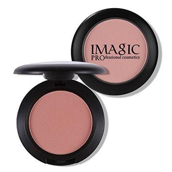 IMAGIC Makeup Cheek Blush Powder 8 Color Baked Cheek Color Bronzer Blusher Palette Face Makeup Blusher