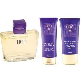 Yves Rocher Eryo Fragrance 3-piece gift set for Men: Eryo Eau de Toilette, 50 ml/ Eryo Soothing After-Shave Balm, 75 ml & Eryo Hair and Body Shampoo, 200 ml