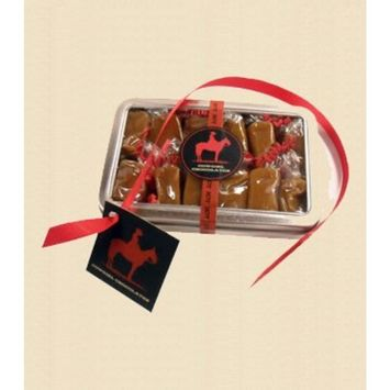 Cowgirl Spicy & Mild Salted Caramel Candy Squares - Individually Wrapped (Habanero, 12 Piece Tin)