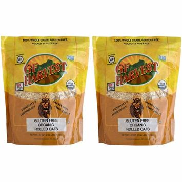 GF Harvest Gluten Free Organic Rolled Oats, 41 oz. Bag, 2 Count (Packaging May Vary)