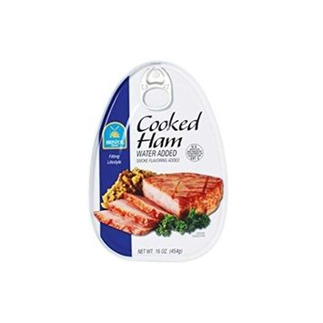 BRISTOL Cooked Ham Water Added/Smoke Flavoring Added (1-CAN) (NET WT 16 OZ)