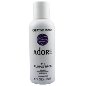 ADORE Semi Permanent Hair Color #116 Purple Rage 4 oz
