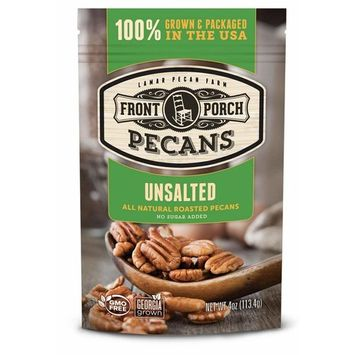 All Natural Roasted Pecans (Unsalted)