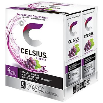 Celsius Grape Rush