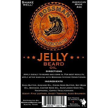 Bossman Essentials Beard Kit - Beard Oil, Conditioner, and Balm