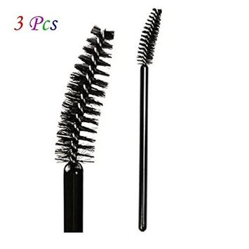 Brendacosmetic Professional Eye brow Brush Eyelash brush Replacement ,Black Spiral Eyebrow Brush Makeup Cosmetic Tool for Eyebrow