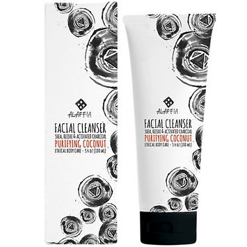 Alaffia Facial Cleanser Purifying Coconut