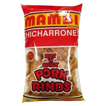 Mambi Hot n Spicy Pork Rinds 4 oz