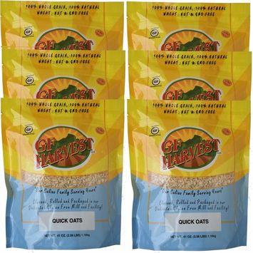 GF Harvest Gluten Free Quick Oats, 6 Count [6]